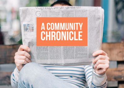 A Community Chronicle
